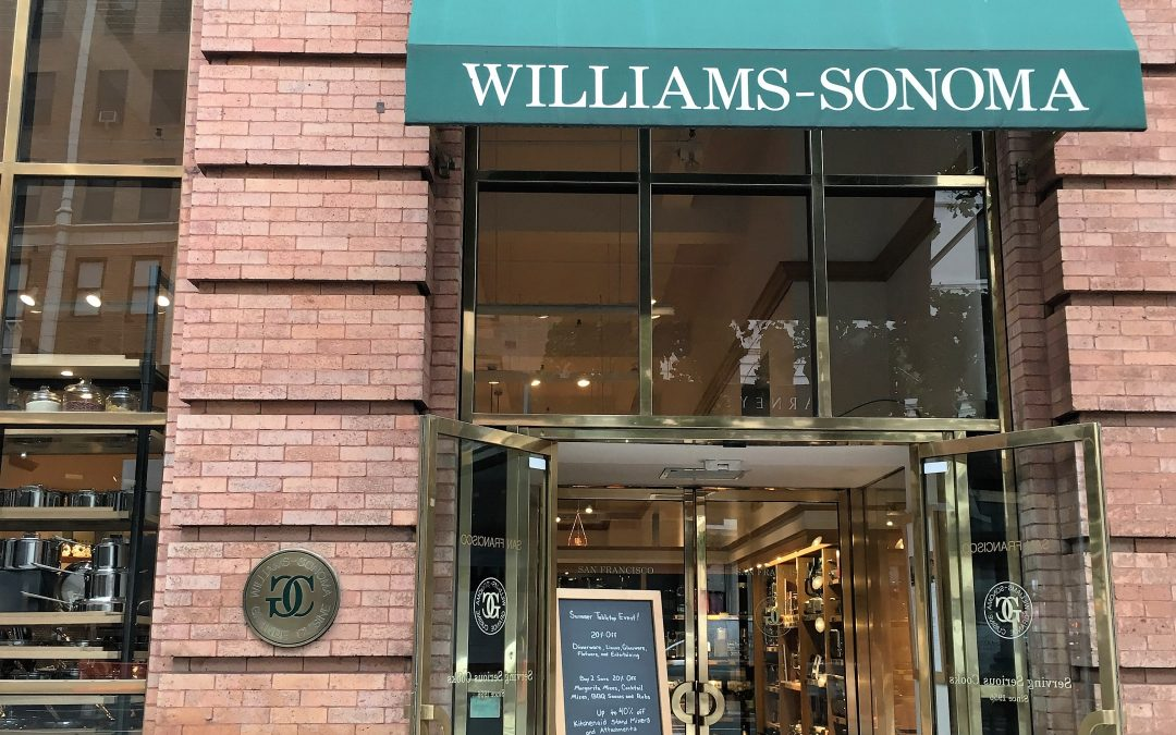 Sunday 9 July – 2pm – Tasting & Book Signing at Williams-Sonoma Chelsea NYC
