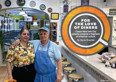 Estiator Magazine – For the Love of Diners