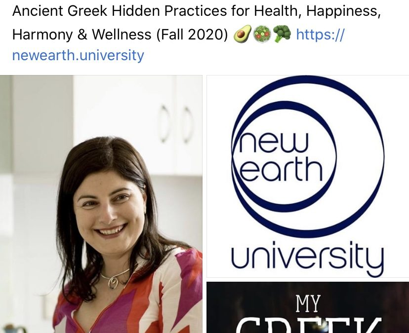 Maria joins the New Earth University School of Health & Welless