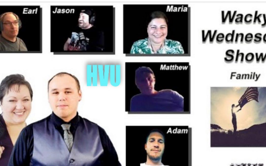HVU with Jason Q, Ostara, Kidd, Earl Thibert, Matthew, Adam and Maria Benardis – 9 June 2021