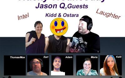 HVU WITH JASON Q, OSTARA, KIDD, EARL THIBERT, KELLIE, ADAM AND MARIA BENARDIS – 7 JULY 2021