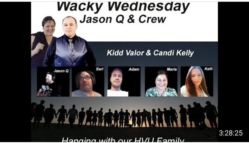 HVU WITH JASON Q, CANDI, KIDD, EARL THIBERT, KELLIE, ADAM AND MARIA BENARDIS – 21 JULY 2021