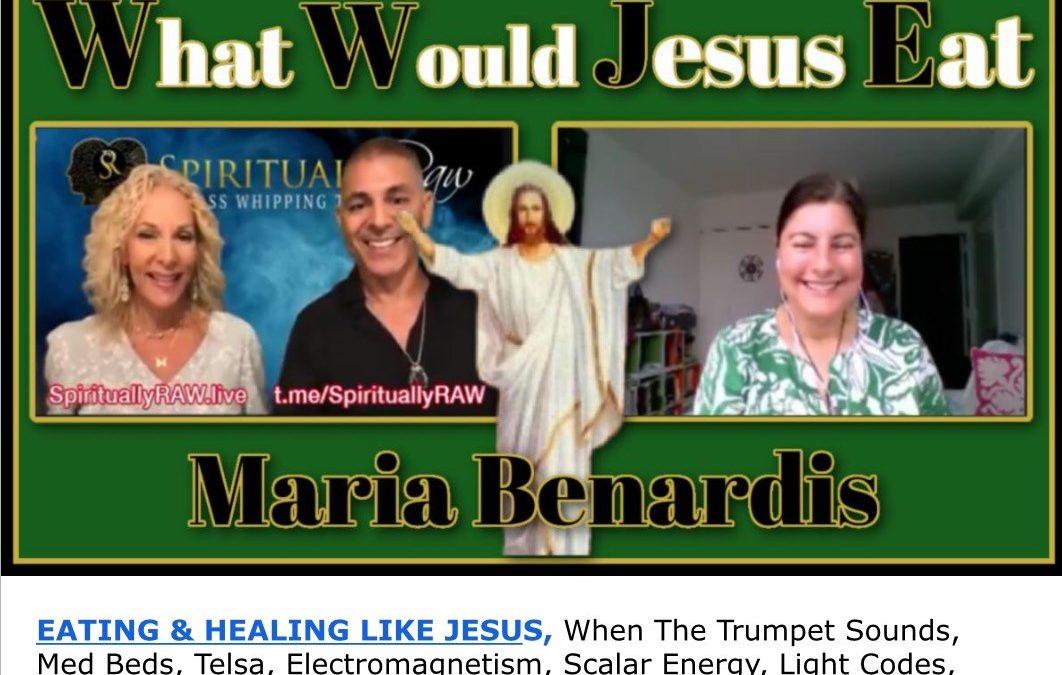 🔥EATING & HEALING LIKE JESUS, Med Beds, Tesla, Electromagnetism, Scalar Energy, Light Codes, Consciousness Quantum Healing, Mary Magdalene, Baptism