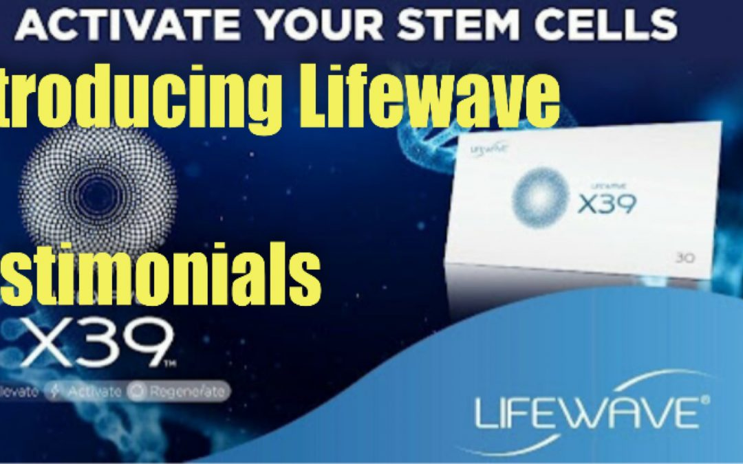 Introducing Lifewave Frequency Patches – Light Stem Cell Therapy – What are they and Testimonials